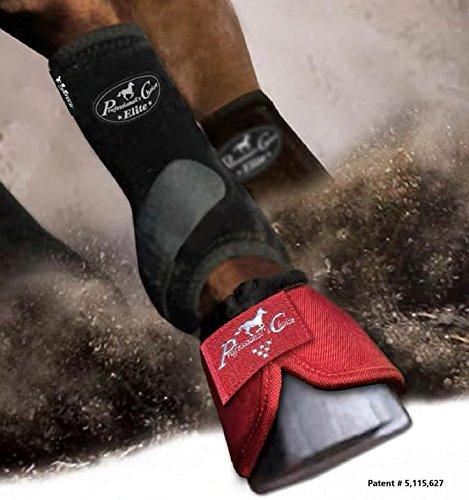 Professional's Choice Profis Wahl Equine Sport-Medizin VenTECH (TM Elite vorne Bein Stiefel, paarweise, Damen, schwarz, Medium -