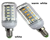 KAIKSO-IN 4000LM E27 20W 102 x 2835 SMD LED-Mais-Birnen-warmes / Weiß Lampe 110V / 220V Lamp Startseite (1100v White)