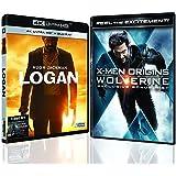 Logan & Logan Noir (4K UHD & HD) (3-Disc Premium Pack) + X-Men Origins Wolverine Exclusive Bonus DVD - Total 4-Disc Collection