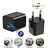 #8: EagleEye 1080P HD USB Wall Charger Hidden Spy Camera