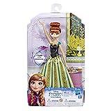 Disney La Reine des Neiges - Poupee Princesse Disney Anna Chantante - Chante en français - 30 cm