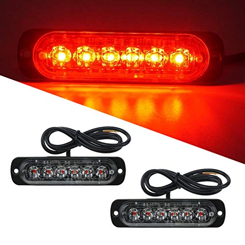 Dynamisch 12 V Auto Grill Deck Warnung Licht Bar Led Notfall Blinklicht Auto Styling Mini Strobe Signal Lampe Universal Design Autolichter