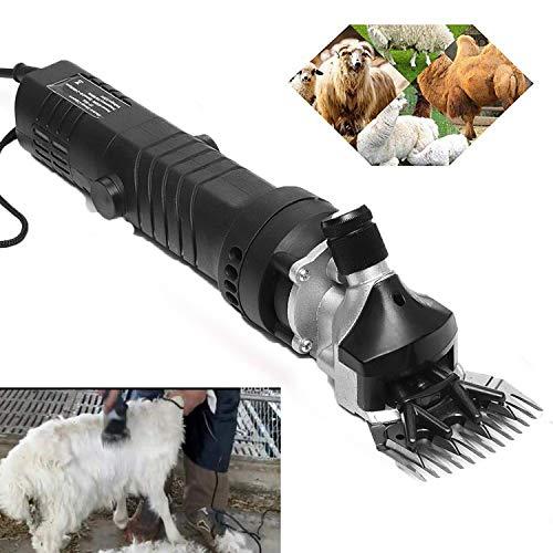 CHENGL Elektrische Schere für tierische Schönheit und Schurwolle für schwere Viehscheren und Viehschönheitsprodukte mit fünf Meter langem Netzkabel