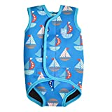 Splash About Baby Wrap Wetsuit - Set Sail, Medium (6-18 Months)