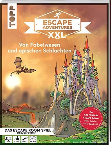 Escape Adventures XXL - Von Fabelwesen und epischen Schlachten. Das Escape-Room-Spiel im Buchformat.: Jetzt in XXL für mehr Spieler und längere ... 120 Minuten Spielzeit. Schwierigkeit: Mittel