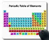 Mauspads, Periodensystem der Elemente Gaming-Mauspad, Periodensystem von Chemistry Elements for Classroom. Dickes großes Gummi-Mousepad