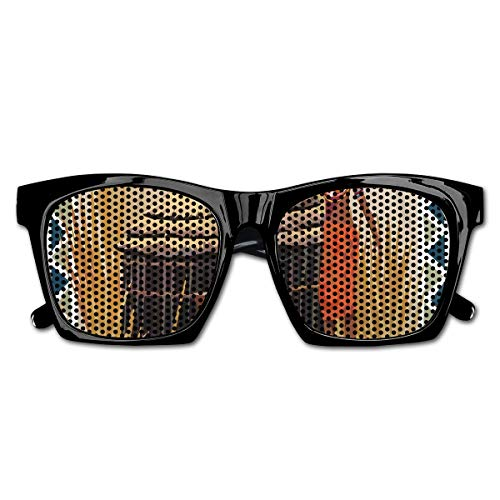 Mesh Sunglasses Sports Polarized, Native African Lady Carrying A Pot Traditional Ethnic Savannah Life Artful Graphic,Fun Props Party Favors Gift Unisex