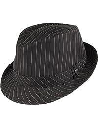 Chapeau Trilby à Fines Rayures noir JAXON & JAMES