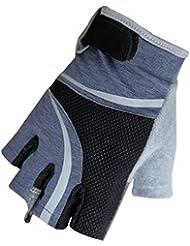 Caracol Deportes y fitness que montan guantes de la mitad de la motocicleta dedo guantes de medio dedo de la bici primavera y oto?o fina secci¨®n mitones