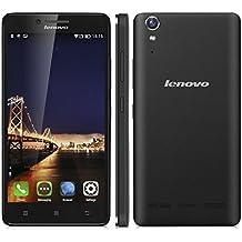 Lenovo K30 W - 4G Smartphone Libre Android 4.4 (Pantalla 5.0'' IPS, HD 1280x720 Quad Core 1.3 GHz, 1GRam, 16GRom, Dual Sim, Smart Wake) (Negro)