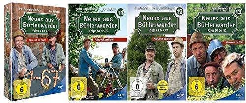 Neues aus Büttenwarder Staffel 1-13 (1 bis 10 Box + 11+12+13) Folge 1 bis 85 [DVD Set]