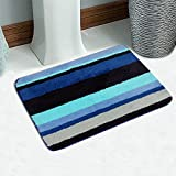 Saral Home Very Soft Micro Polyester Anti Slip Bathmat -45x70 cm
