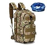 Haoyk - Zaino militare tattico, per sport all'aperto, escursionismo, trekking, campeggio, viaggi,...