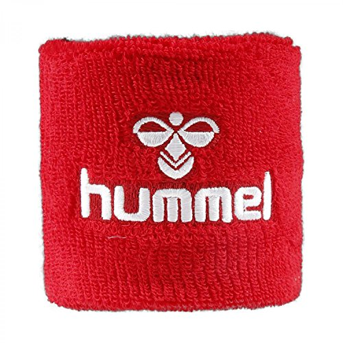 Hummel OLD SCHOOL SMALL WRISTBAND TRUE RED/WHITE (Gestickte Hummel)