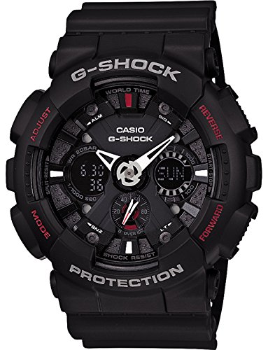 Casio G-Shock Analog-Digital Black Dial Men's Watch