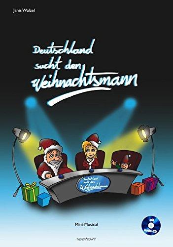Theater Kostüm Tanz Musical - Deutschland sucht den Weihnachtsmann: Mini-Musical