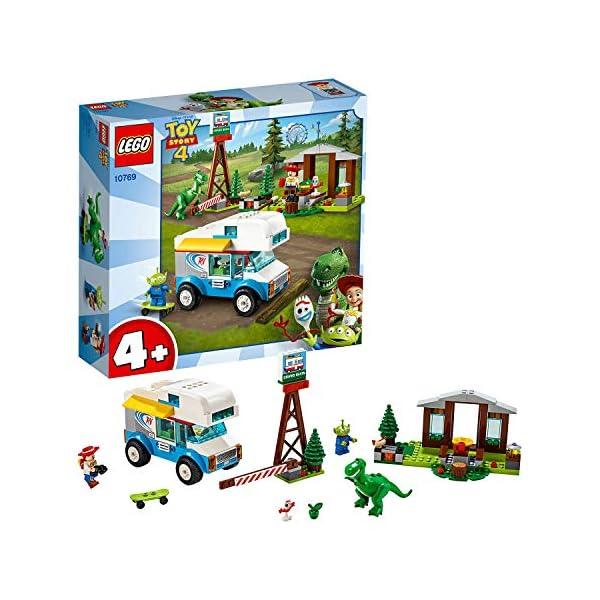 LEGO Juniors Toy Story 4 Vacanza in Camper, Gioco per Bambini, Multicolore, 282 x 262 x 76 mm, 10769 1 spesavip