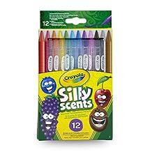 Crayola Silly Scents Çevrilebilen Kuru Boya Kalemi, 12'li