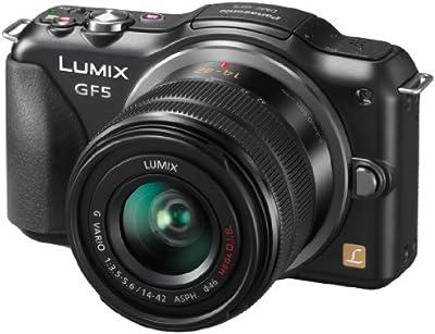 Panasonic Lumix DMC-GF5 - Cámara EVIL de 12.1 MP (pantalla LCD de 3