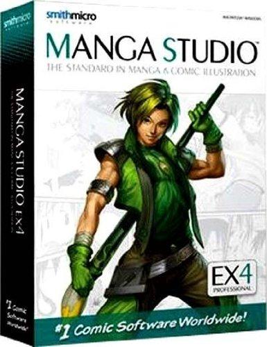 Manga Studio 4.0 EX Mac/Win engl. (Manga-programm)
