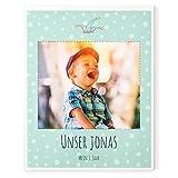 Gutschein für den Druck eines Baby-Fotobuches über Ihr Kind – 3. Jahr Mädchen, Junge – 40 Seiten, Hardcover, 21,6 x 27 cm