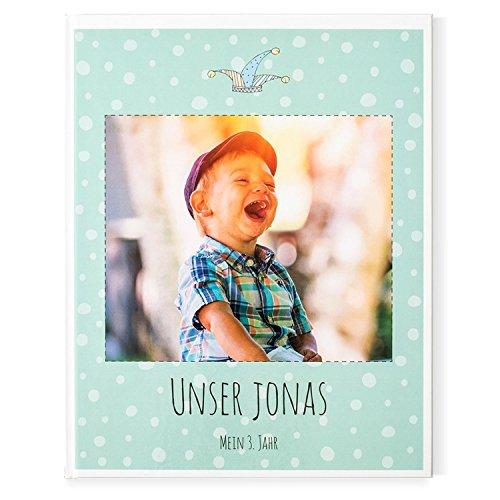Bon pour la pression d'un livre de photos bébé sur votre enfant–3ème Année–40pages, couverture rigide, 21,6x 27cm Bontia