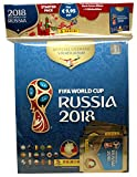 'panini 709951FIFA World Cup Russia 2018raccolta Sticker Starter Set, Hard Cover Album e 3Booster