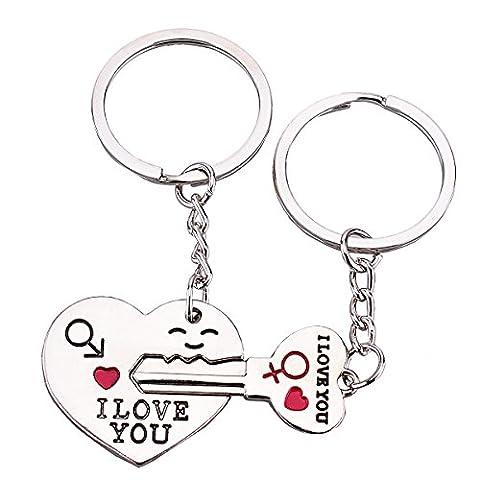 TankerStreet Couple mignon Porte-clés
