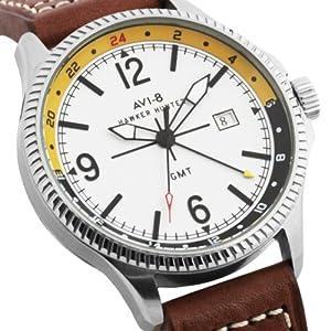 Avi-8 Reloj Hawker Hunter Marrón / Amarillo de Avi-8