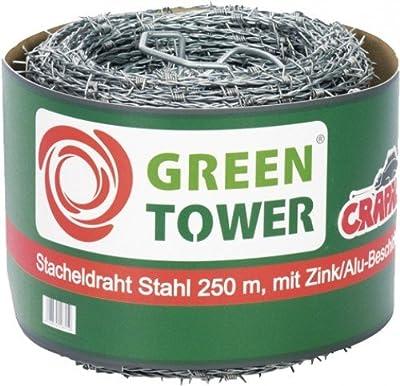 FS Stacheldraht Stahl 1.7 mm 250 M von FS auf Du und dein Garten