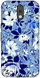 The Racoon Lean Free Floral hard plastic printed back case / cover for Motorola Moto G 4th Gen