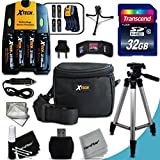 Ultimate Accessory Kit For Nikon Coolpix L840 Digital Camera Includes: 32GB High Speed Memory Card + 4 AA High Capacity 3100mAh Rechargeable Batteries + Charger + Padded Case + 60 Inch Tripod + MORE