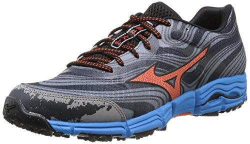 mizuno-wave-kazan-scarpe-sportive-uomo-multicolore-gunmetal-tangerine-tango-diva-blue-43