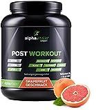 Post Workout Shake mit Maltodextrin, Whey Protein, BCAA, Creatin, L-Glutamin - 1500g - Grapefruit - Muskelaufbau und Regeneration