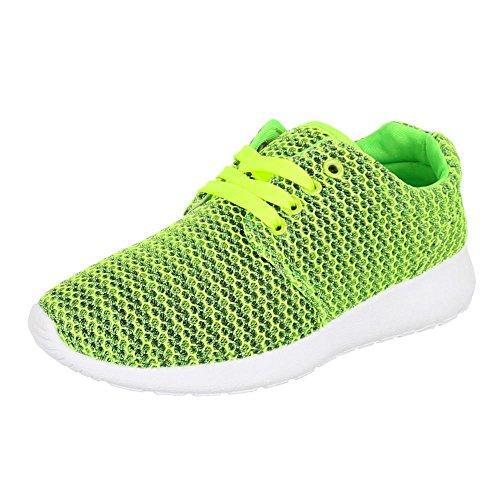Ital-Design, Sneaker donna Verde (verde)