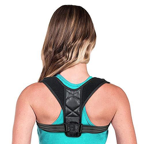 BauFT Geradehalter zur Haltungskorrektur für eine Gesunde Haltung, ideal zur Therapie für haltungsbedingte Nacken, Rücken und Schulterschmerzen Damen Herren