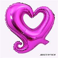 Macxy - große Ligatures Liebe Luftballons Hochzeit Dekoration Champagne-Goldfolienballon Geburtstag Ballons Verpflichtungs-Jahrestags... preisvergleich bei billige-tabletten.eu