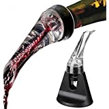 Hotder Wine Aerator Decanter With Base For Red Wine Christmas Gift