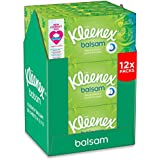 Kleenex Balsam Tissues - 12 Box Pack (960 Tissues Total)