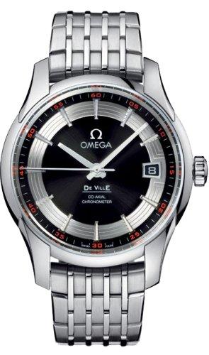 Omega 431.30.41.21.01.001 - Reloj para hombres, correa de acero inoxidable