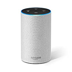 All-new Amazon Echo (2nd Generation), Sandstone Fabric