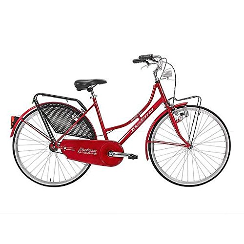 DELMA BICICLETA HOLANDA LISBOA 26 1 VELOCIDAD ROJO (CITY)/BICYCLE HOLANDA LISBOA 26 1 SPEED RED (CITY)