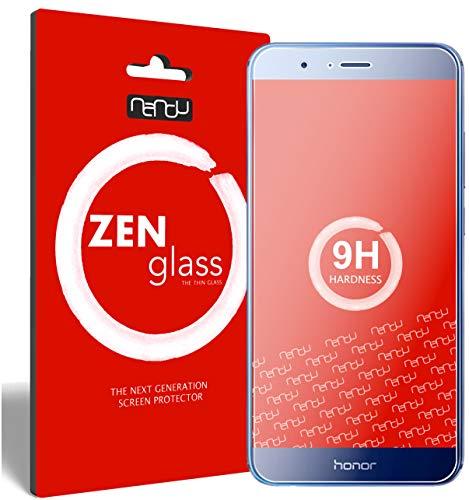 nandu I ZenGlass Flexible Glas-Folie für Huawei Honor 8 Pro Panzerfolie I Display-Schutzfolie 9H I (Kleiner Als Das Gewölbte Display)