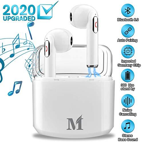 Auricolari Bluetooth, Cuffie Bluetooth 5.0 Senza Fili Auricolari Wireless Stereo Mini In Ear...