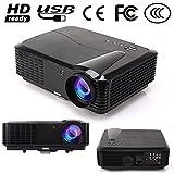 EUG 90 Projektor hd HDMI LCD-Beamer LED-Projektor 3400 Lumen 1280x800