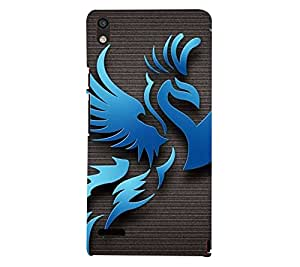 perfect print Back cover for Huawei Ascend P6