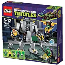 LEGO® Teenage Mutant Ninja Turtles - 79105 - Tortues Ninja - L'attaque du robot de Baxter