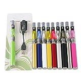 TS Trade Zigaretten-E Cig-Installationssatz EGO-T Dampf Vape Stift-E kein Nikotin 900mah / 1100mah für zufällige Farbe CE4