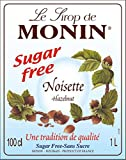 Product Image of Monin Premium Hazelnut Sugar Free Syrup 1 L