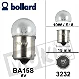 Birne / Lampe BA15S 6V 10W S18